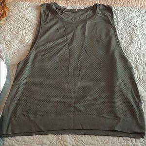 Lululemon tank top with mesh detail